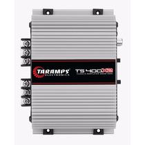 Potencia Automotiva Taramps Ts 400x2 Canais Digital 02 Ohms