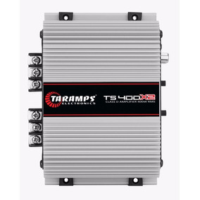 Potencia Automotiva Taramps Ts 400x2 Canais Digital 02 Ohms