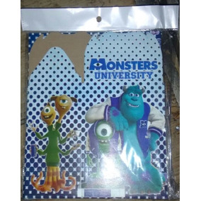 Paquete Con 10 Cajas Monsters Inc University Fiesta