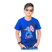 Kit 6 Camiseta Infantil Juvenil Personagens Herois Atacado