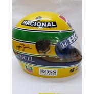 Capacete F1 Brasil Ayrton Senna  Kart Uso Ou Expo