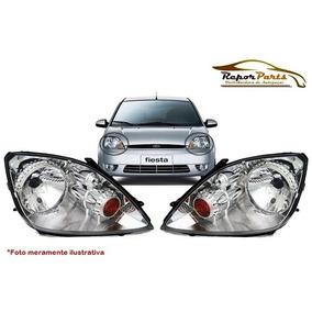 Par Farol Ford Fiesta Hatch/ Sedan 2006 Original Tyc