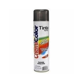 Tinta Spray Grafite Kit 10 Latas 400 Ml