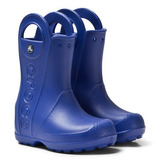 Crocs Botitas Para Niños/niñas Mod. Handle It Rain Boot Kids