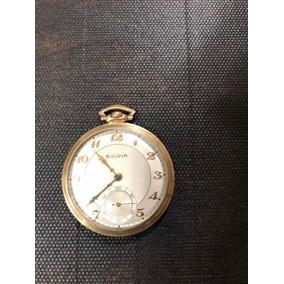 Relógio Bulova De Bolso.