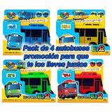 Tayo El Pequeño Autobús Pack 4 Tayo, Rogi, Lani Y Gani