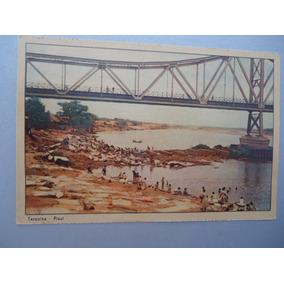 Antiguidade Cartão Postal Ponte Metálica De Teresina-piauí