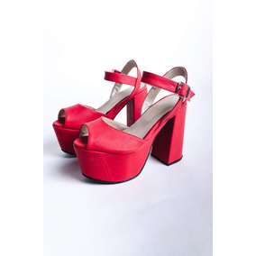 Sandalias Stiletto Zapatos Mujer Taco Palo Plataforma