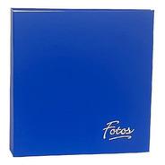 Álbum Mega 500 Fotos 10x15 Azul + Refil Extra P/ 100 Fotos