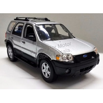 1:24 Ford Escape Xlt Sport 2005 Plata Welly C Caja