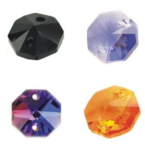 3270 Octagones De Cristal Colores Candil Cortinas Decoracion
