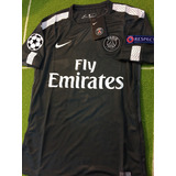 Jersey Del Paris Saint Germain Champions League 2018 Negro