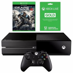Xbox One 500gb + Live 12 Meses + Controle Wireless