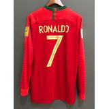 Camisa Do Portugal Manga Longa Cristiano Ronaldo - Futebol no ... 1f0ea268630ab
