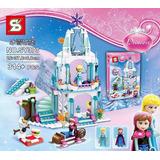 Castillo Hielo Frozen Princess 314 Pcs Armotodo Niña *