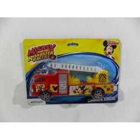Caminhao De Bombeiro Disney Mickey
