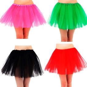 Tutu Adultos Grande Falda Ballet Disfraz 7 Colores Mnr