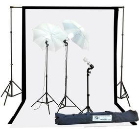 Kit Iluminacion Equipo Fotografico Fancier Studio 1000 W