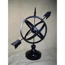 Astrolabio Esfera Armilar De Metal!! Muy Decorativo