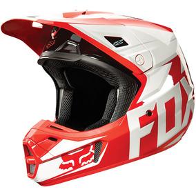 Capacete Fox V2 Race 2015 Vermelho (54)