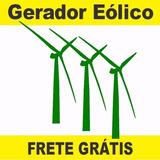 Projeto Aerogerador Eolico Com Imas Permanente 1000watts