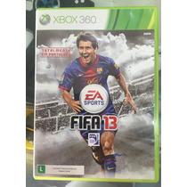 Jogo Fifa 13 Xbox 360 Usado Em Perfeitas Condições, Completo