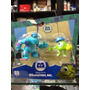 Monster Inc Originales De 6 Cm Zulivan Y Wasaski