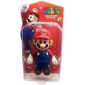 Juguete Muñeco Super Mario Bross 5cms En Blister