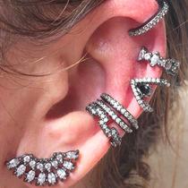 Piercing Falso Fake Orelha Ear Cuff B.ouro Garan