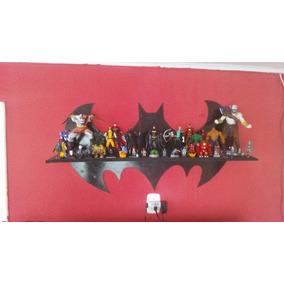 Prateleira Do Batman Tamanho 80cm De Largura.feita Em Mdf.