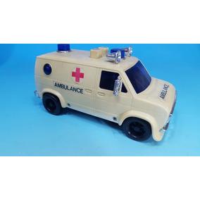 Antiguo Juguete - Ambulancia Años 1980 Importada - Nueva