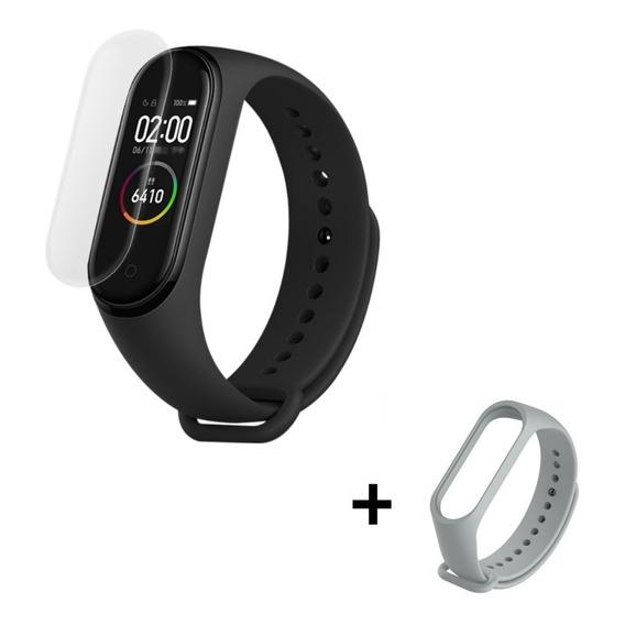 Xiaomi Mi Band 4 Smartwatch Reloj Version Global Espa?ol + Film Protector + Malla Adicional