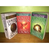Libros, Juego De Tronos En Inglés 3, 4 Y 5, Precio C/u