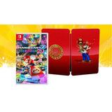 Mario Kart 8 Deluxe Nintendo Switch + Steelbook Caja Metalic