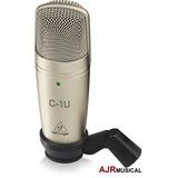 C1u Microfone Condensador Behringer C1 U Usb Envio 24hs