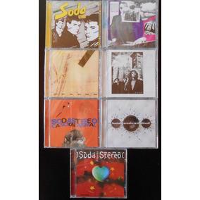 Lote 7 Cds Soda Stereo Discografia Estudio Sellados