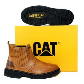 Kit Caterpillar Botina+cinto+carteira Segurança Frete Grátis