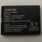 Bateria Foston Celular Quatro 4 Chipes Modelo Fs A954dt