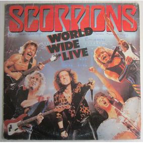 Lp Scorpions World Wide Live Duplo