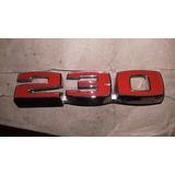 Insignia Chevrolet 230 Rojo Original Nueva