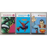 Historieta Clarín Increíble Hulk, Hombre Araña, Superman