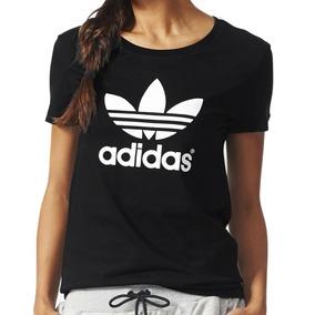 Adidas Originals Playera Trefoil City Black Crew Nueva L - Playeras ... d54c6adc6a76d