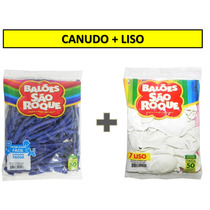Canudo 9,99 + Liso 5,99 Balão São Roque Nº 7 - 28 Pacotes