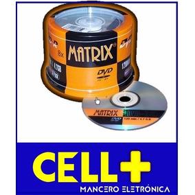 Torre Dvd-r Marca Matrix 50 Discos Dvd Con Garantía