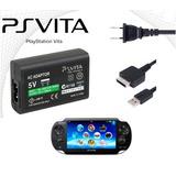 Cargador Adaptador Sony Original Para Psp Vita Con Cable Usb