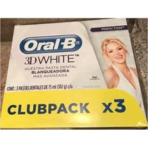 Caja Crema Dental Oral B Perfection+3d White Luxe+sensialivi
