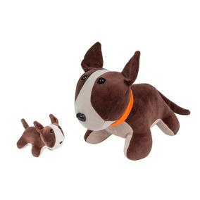 Bull Terrier Grávida Com O Filhote