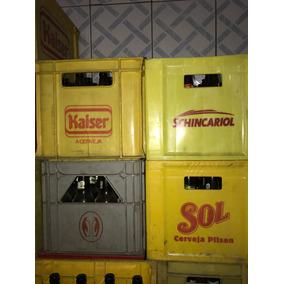 Engradado De Cerveja Com Garrafas 600ml