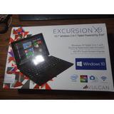 Tablet Vulcan Excursion 2 En 1 Hdmi Usb Win 10