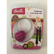 Cadeado Com Segredo Barbie Primicia - 1433